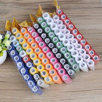 High quality 10pcs/set 40S/2 Sewing Thread Machine embroidery thread 200 Yards/Spool home supplies