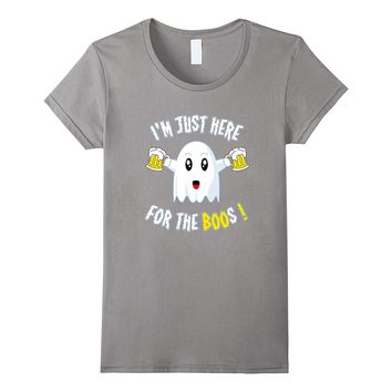 I'm Just Here for Boos Halloween shirts for Adults T-Shirt
