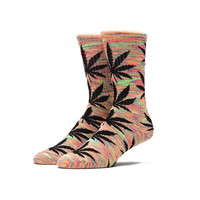 HUF - STREAKY PLANTLIFE SOCKS // NEON ORANGE