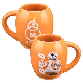 Star Wars EP7 BB-8 18 oz. Oval Ceramic Mug