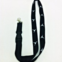 Michael Jordan Lanyard Jumpman Keychain Holder Black