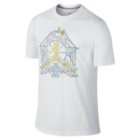 Nike Jordan Crescent City Jumpman Men's T-Shirt - White