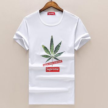 Boys & Men Supreme Fashion Casual Shirt Top Tee