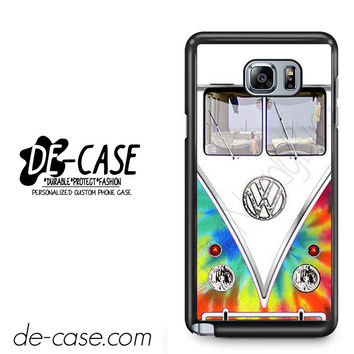 Tye Dye Volkswagen Bus For Samsung Galaxy Note 5 Case Phone Case Gift Present YO