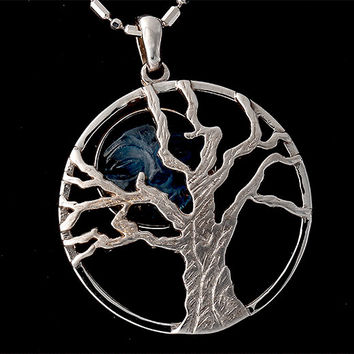 14 Kt. Gold Tree of Life Pendant, Gold Tree of Life Charm, Nature Inspired Jewelry