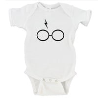 Harry Potter Bolt and Glasses Gerber Onesuit ®