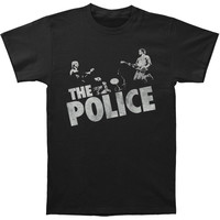 Police Men's  Zenyatta Trio T-shirt Black