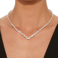 M'O Exclusive: Marquise Diamonds Necklace | Moda Operandi