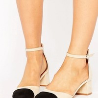 Pimkie Contrast Heeled Shoe at asos.com
