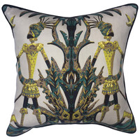 Jim Thompson Duquetterie   Pillow