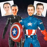 Personalised Superhero Action Figures  at Firebox.com