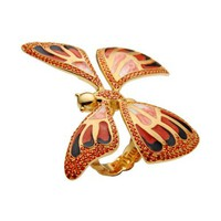 First People First Butterfly Ring - Ring - Women First People First Rings online on YOOX United Kingdom - 50176884LM