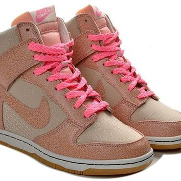 Nike Dunk Sky Hi Essential Inside Heighten woman Leisure High Help Board Shoes1