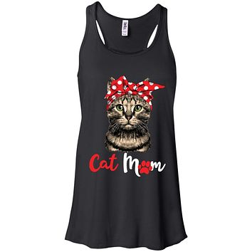 Funny Cat Mom For Cat Lovers Mothers Day Gift