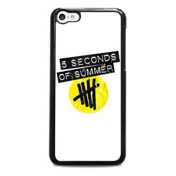 5 seconds of summer 2 5sos iphone 5c case cover  number 1