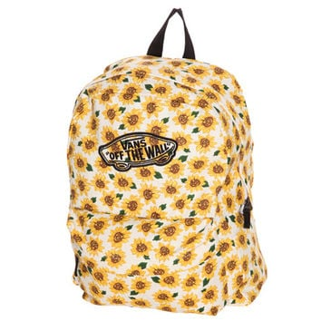 2dcd4efea1 Vans Sunflower Realm Backpack