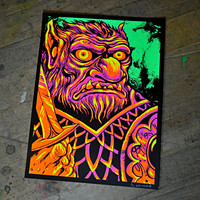 """Bugbear"" Screen Print – The Art of Skinner"