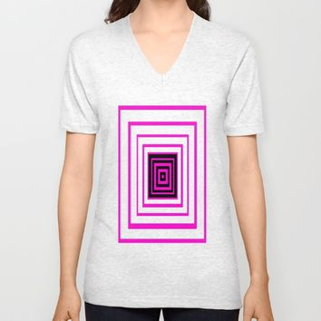 Into your Soul | Deep breath | Inside Unisex V-Neck by Azima