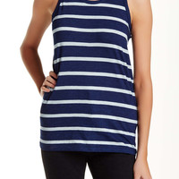 Striped Cast Tank