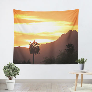 Tucson Sunset Tapestry