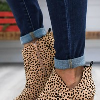Gianna Booties - Leopard