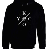 Kygo Stole The Center Eye Black And White Hoodie