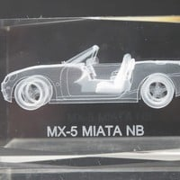 MX-5 MIATA NB glass paperweight, Great gift