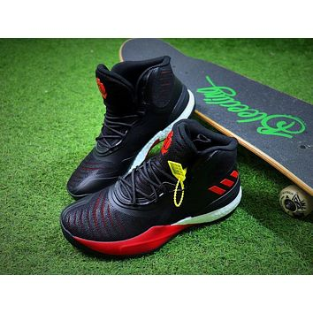 Adidas D Rose 8 Black Red Basketball Shoes Sport Shoes - Sale