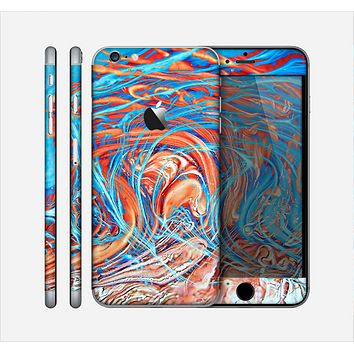 The Vibrant Color Oil Swirls Skin for the Apple iPhone 6 Plus