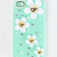Daisy iPhone Case - Mint