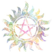 Supernatural watercolours Art Print by Dan Lebrun | Society6