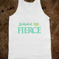 SMALL BUT FIERCE SHORT GIRL WORKING OUT STRONG SHIRT