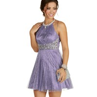 Lilly-lavender Prom Dress
