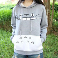 M-XXL Totoro Hooded Sweater CP153658