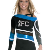 Funky Shoulder Cheer One Piece Uni from GK Elite