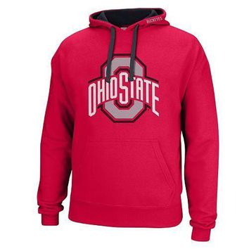 Men's Ohio State Buckeyes Foundation Hoodie Sweatshirt - NWT Size XL & Large