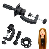 2017 Stand Cosmetology Adjustable Model Mannequin Head Wig Holder Stand Desk Table Clamp