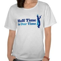 Half Time Marching Band Tshirts from Zazzle.com