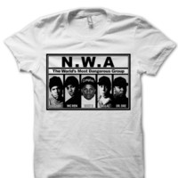 CLASSIC NWA T-SHIRT DR. DRE ICE CUBE EAZY E SHIRTS FANS HIP HOP MUSIC RAP ARTISTS