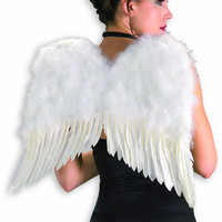 Costume Accessories Feather Wings White