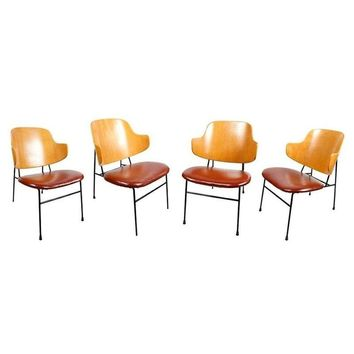 Pre-owned Mid-Century Ib Kofod-Larsen Chairs