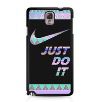 Nike Just Do It Aztec Pastel Samsung Galaxy Note 3 case