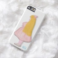 Girl illustration iphone6 case by OR Designs