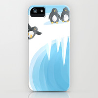 Penguin Playground iPhone & iPod Case by Freeminds