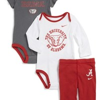 Infant Boy's Nike 'Alabama Crimson Tide' Three-Piece Set