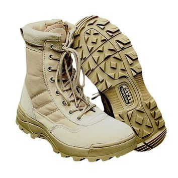 DCCKL72 Sport Army Men's Tactical Boots Desert Outdoor Hiking Camping Military Enthusiasts Marine Male Combat Shoes Fishing Waders New