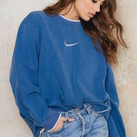 NIKE Casual Sport Top Sweater Pullover Sweatshirt
