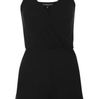 PETITE Strappy Lace Playsuit - New In