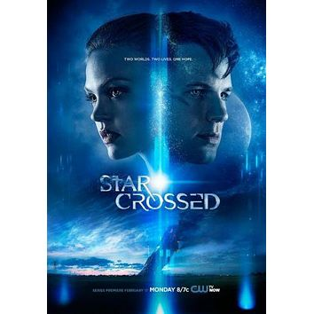 Star Crossed Movie poster Metal Sign Wall Art 8in x 12in