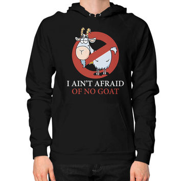 Bill murray cubs shirt - I Ain't Afraid Of No Goat Shirts Hoodie (on man)